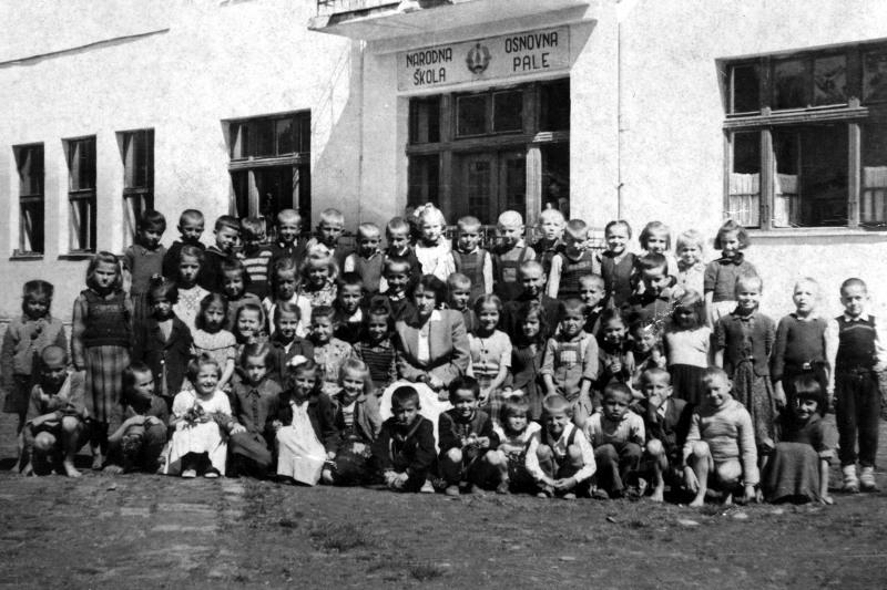 Народна основна школа Пале након Другог свјетског рата